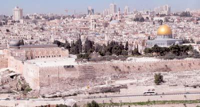 36% من سكان القدس مسلمون و64% يهود