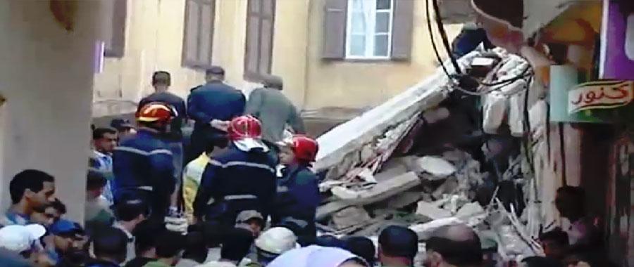 تعزية ملكية بعد سقوط أربعة في انهيار منزل بالبيضاء