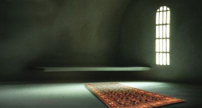 سجادة ذكية للصلاة تساعد على الراحة والتركيز