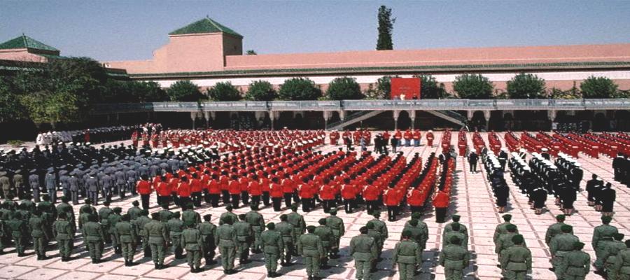القوات المسلحة الملكية تحتفل بتأسيسها