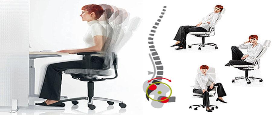 حلول للجلوس السليم على المكتب