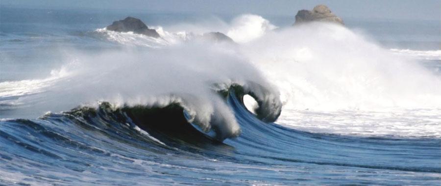 طاقة الأمواج