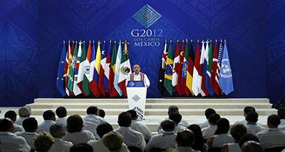 افتتاح قمة مجموعة العشرين