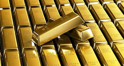 قيمة الذهب تواصل انخفاضَها في السوق العالمية