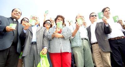الأمم المتحدة توزع جوازات سفر بيئية خضراء بالبرازيل