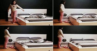 سرير ذكي يعيد ترتيب نفسه أوتوماتيكيا
