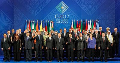 اوروبا تحصل على دعم مجموعة العشرين لمواجهة ازمتها المالية