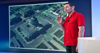 خرائط غوغل ثلاثية الأبعاد