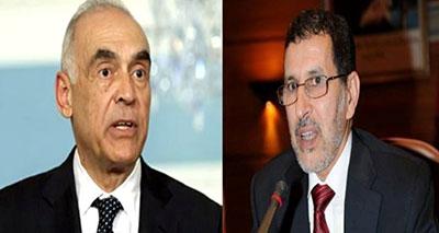 وزيرَا خارجيتي المغرب ومصر