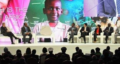 منتدى نيويورك للتنمية في إفريقيا بالغابون