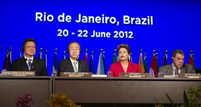 افتتاح قمة التنمية المستدامة في ريو دي جانيروا