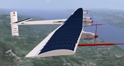 الطائرة الشمسية «سولار أمبالس»