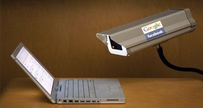 غوغل وفيسبوك أبرز المتتبعين للمستخدمين