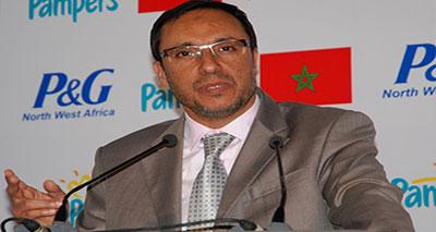 وزير الصناعة والتجارة والتكنولوجيات الحديثة المغربي، عبد القادر اعمارة