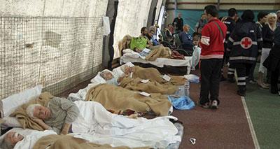 مسلمو إيطاليا يساعدون ضحايا الزلازل
