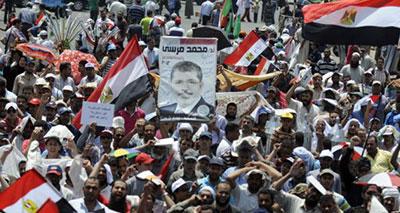 ميدان التحرير وسط القاهرة