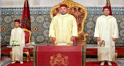 جلالة الملك في خطاب العرش: دخول بلادنا «مرحلة جديدة»٬ هو ثمرة سياسة متبصرة وإستراتيجية متدرجة
