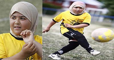طرد طفلة من ملعب كرة لارتدائها الحجاب في كندا