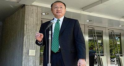 رئيس البنك الدولي الجديد، جيم يونغ كيم