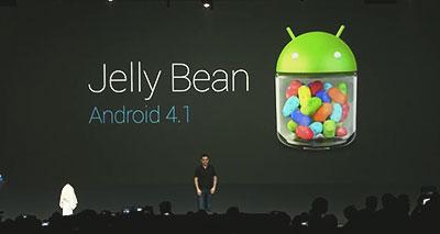 """غوغل تطرح شفرة أندرويد 4.1 """"جيلي بين"""""""