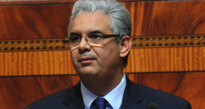 وزير الاقتصاد والمالية نزار بركة