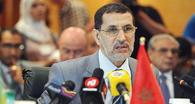 وزير الشؤون الخارجية والتعاون سعد الدين العثماني