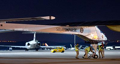 طائرة «سولار إمبولس» تقلع من الرباط باتجاه مدريد