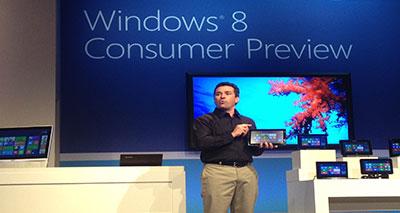 """مايكروسوفت تصدر نسخة """"ويندوز 8"""" الجديدة"""