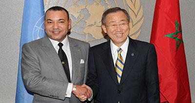 الأمين العام للأمم المتحدة يشيد بانتصار جلالة الملك للقيم الدولية النبيلة