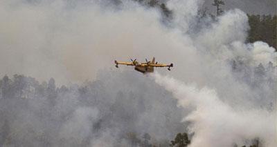 مدريد تشكر جلالة الملك على مساعدة المغرب لمكافحة الحرائق التي اندلعت في غابات اسبانية