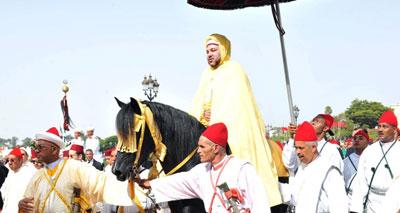 أمير المؤمنين يترأس بالرباط حفل الولاء