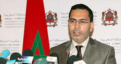 مصطفى الخلفي٬ وزير الاتصال الناطق الرسمي باسم الحكومة