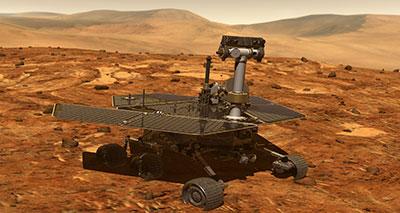 الناسا تحاول فك لغز كوكب المريخ
