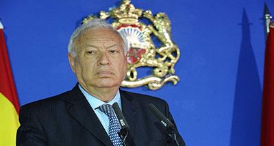 وزير الشؤون الخارجية الإسباني السيد خوسيه مانويل غارسيا مارغالو