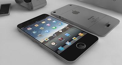 """توقعات بشأن إصدار """"آي فون 5"""" المنتج الجديد لشركة """"أبل"""""""