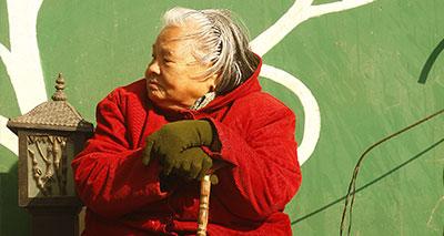 الشيخوخة باليابان