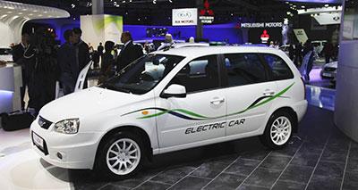 """السيارة """"لادا"""" أول سيارة كهربائية روسية الصنع"""