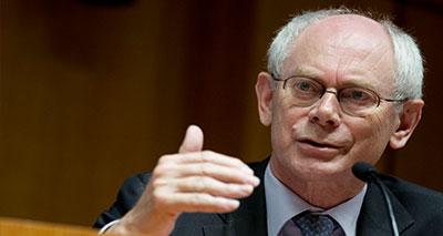 رئيس المجلس الأوروبي هيرمان فان رومبوي