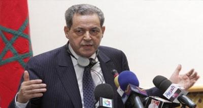 وزير الداخلية٬ امحند العنصر