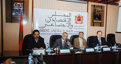 المجلس الاقتصادي والاجتماعي يدعو إلى اتخاذ تدابير استباقية لتجنب أزمة حادة