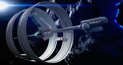 ناسا تكشف مخطط مركبة فضائية أسرع من الضوء