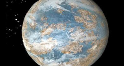 اكتشاف كوكب شبيه بكوكب الأرض