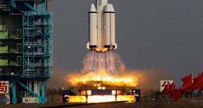 الصين تطلق 20 مركبة فضاء العام الحالي 2013