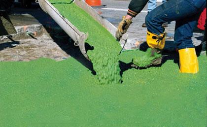 الخرسانة الخضراء