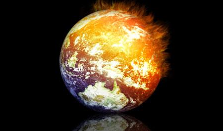 حرارة الأرض