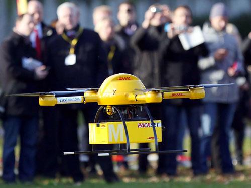 """DHL "" تنضم لقائمة تقديم خدمات التوصيل بطائرات بدون طيار"