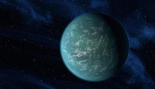 رصد جزيئات مياه على سطح كوكب خارج النظام الشمسي