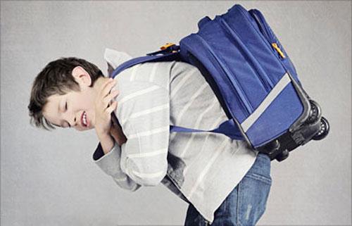 الحقيبة المدرسي و آلام الظهر
