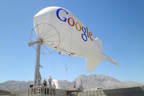 """""""غوغل"""" تطلق بالونات لنشر الإنترنت في المناطق الفقيرة والنائية"""