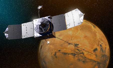 «مافن» تصل إلى المريخ بعد رحلة الـ 10 شهور